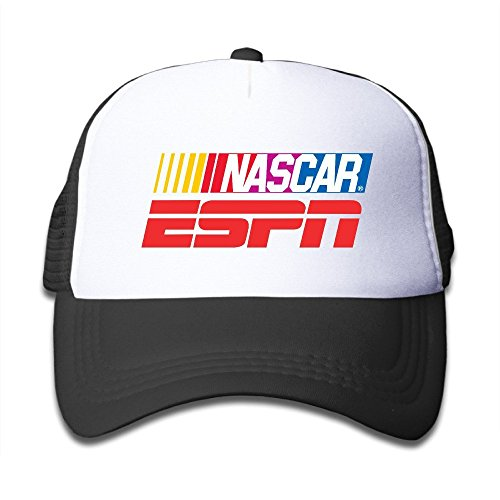 youth-children-mens-women-custom-element-nascar-on-espn-unisex-half-mesh-adjustable-baseball-cap-hat