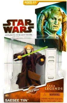 Star Wars 2009 Saga Legends Action Figure SL No. 11 SaeSee Tin