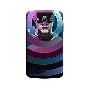 Desicase Samsung Grand Dare Devil 3D Matte Finishing Printed Designer Hard Back Case Cover (Multicolor)