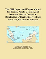 The 2011 Import and Export Market for Boards, Panels, Consoles, and Bases for Electric Control or Distribution of Electricity of Voltage of Up to 1,000 Volts in Malaysia