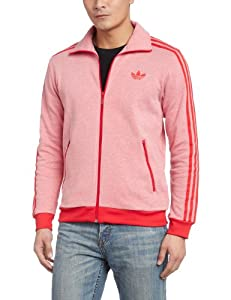 adidas Men's Originals Firebird Track Top - Red, X-Large