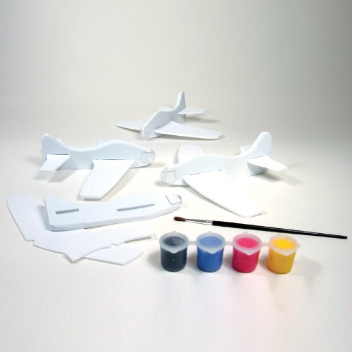 Creativity For Kids Mini Kit Four Foam Flyers