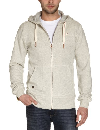 G-Star Men's Sendai Hooded Vest Sw L/S - 85201 Sweatshirt Grey (Vintage Htr 2204) 50/52