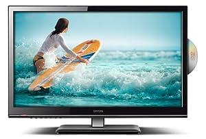 Dyon TAV 22 Basic 55,9 cm (22 Zoll) LED-Backlight-Fernseher (DVB-C/T, CI+, DVD-Player, Hotel Modus) schwarz