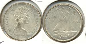 1965 Canada Silver Dime