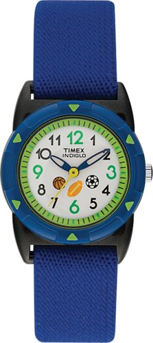 Timex Childrens Quartz Indiglo Sports Stretch Band Watch