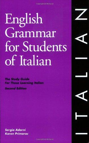 English Grammar for Students of Italian