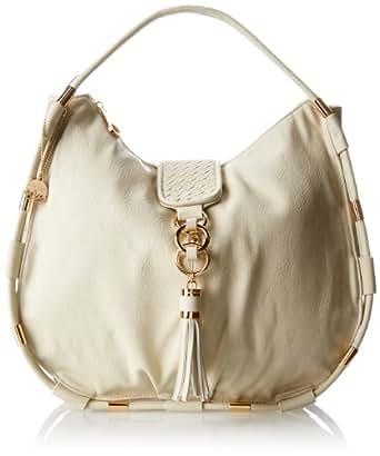 BIG BUDDHA Jfira Shoulder Bag,Bone,One Size