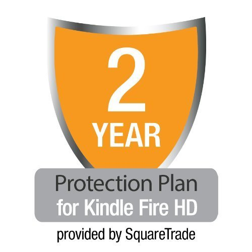 2-Year Protection Plan plus Accident Coverage for All-New Kindle Fire HD (Kindle Fire 7 Protection Plan compare prices)