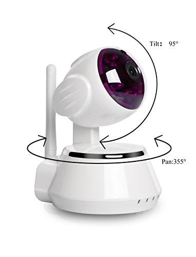 ouvis x5 wireless wifi 720p hd pan tilt mini ip camera