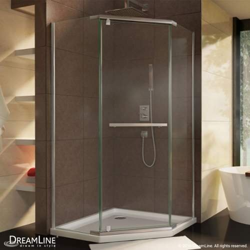 DreamLine-Prism-36-18-by-36-18-Frameless-Pivot-Shower-Enclosure