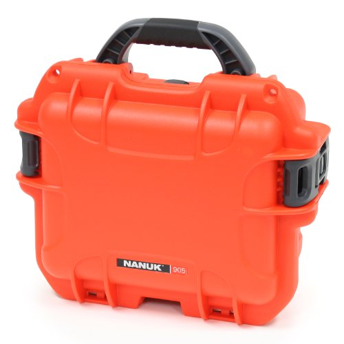 Nanuk 905 Case with Padded Divider (Orange)