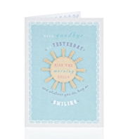 Sunshine Encouragement Card