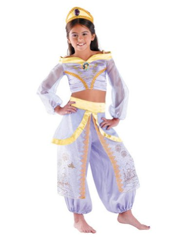 Jasmine Prestige 7-8 Kids Girls Costume - Disguise