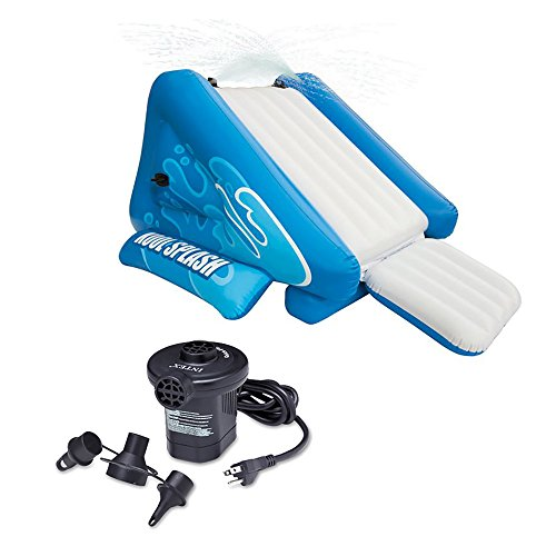 Intex Kool Splash Water Slide + Pump