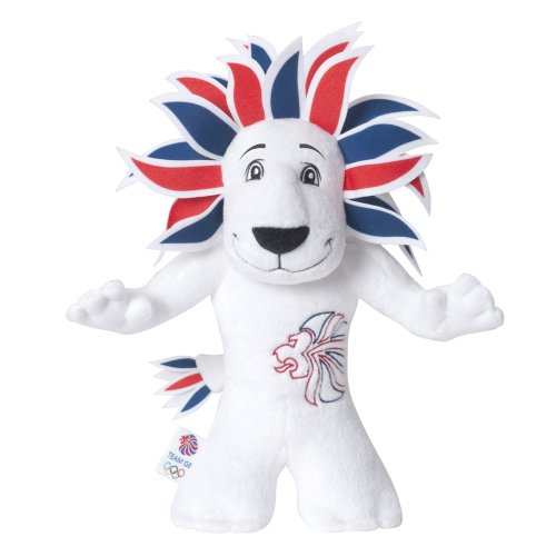 Olympic Mascots 20cm Team GB Mini Plush