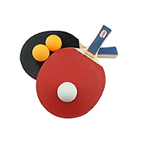 Tennis Racket with 3 Balls : Table Tennis Sets : Sports & Outdoors