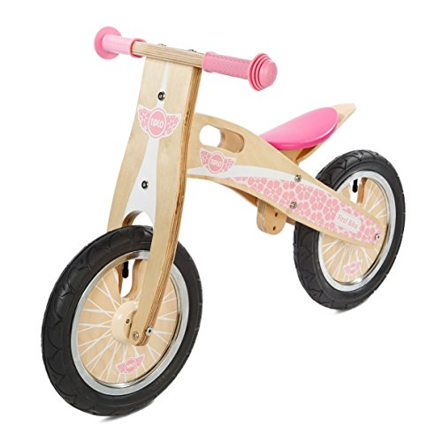 Tidlo : My First Wooden Balance Bike : Pink