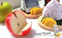 各種 スマートフォン 対応 食品サンプル スタンド (リンゴ)