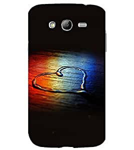 printtech Wooden Heart Water Design Back Case Cover for Samsung Galaxy Grand i9080 / Samsung Galaxy Grand i9082