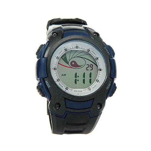 8Years - 1 Digitaluhr Armbanduhr Watch Jungen Stoppuhr Wasserdicht Dunkelblau