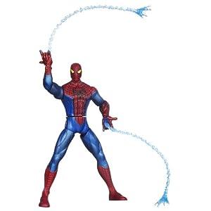 The Amazing Spider-Man Web Battlers Whip Attack Spider-Man Figure
