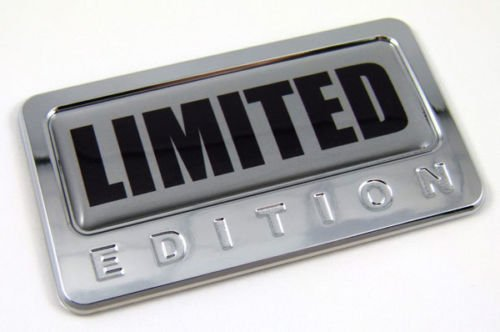 Car Chrome Decals CBEDI-LIMIT Limited Edition Chrome Emblem with domed decal Car Auto Bike Badge Motorcycle (Chrome Motorcycle Badge compare prices)