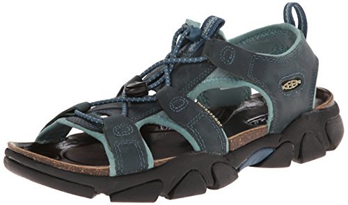 KEEN Women's Sarasota Sandal, Indian Teal, 6 M US