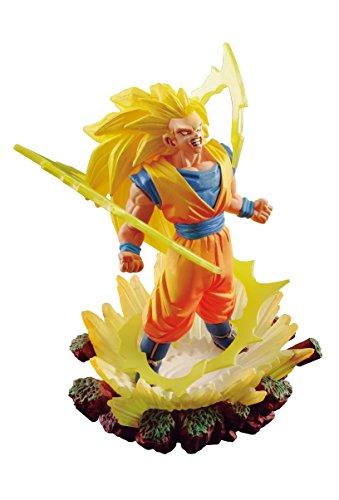 Dragonball Super Dracap Memorial 03 PVC Statue Super Saiyan 3 Son Goku 10 cm Megahouse