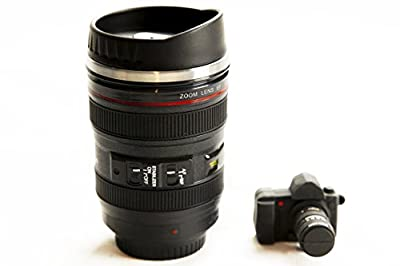 Camera Lens Coffee Mug & USB Flash Drive