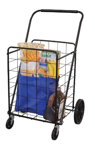 The Faucet Queens, Inc 16722 Super Deluxe Swiveler Cart, Black