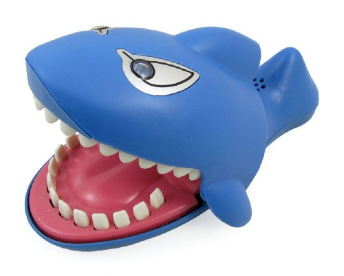 Shark Dentist Game for kids (Evil Laughter, Glowing Eyes, More Fun Than Crocodile) - 1