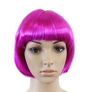 *REELVA*Pretty BOB Style Funny Lady Short Hair wig/wigs