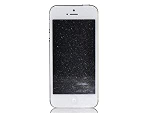 Silver Diamond Sparkle Screen Protector Guard Film for iPhone 5