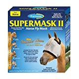 Farnam SuperMask Shimmer Weave Fly Control Mesh for Horses, X-Large