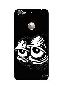 Gobzu Printed Hard Case Back Cover for LeEco LeTv Le 1S - Eyes in the Dark