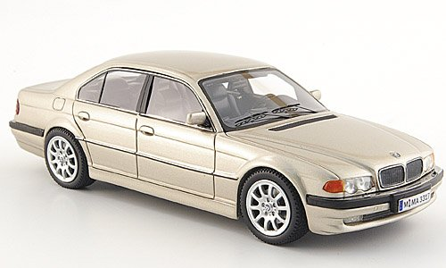 Bmw 740D (E 38), 2000, Model Car, Ready-Made, Neo Scale Models 1:43