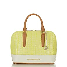 Vivian Dome Satchel<br>Limelight La Scala Color Block