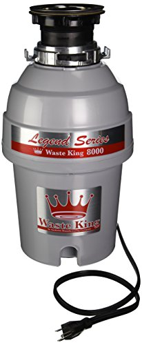 Waste King Legend Series 1.0-Horsepower Continuous-Feed Garbage Disposal - (L-8000) (Construction Sound Insulation compare prices)