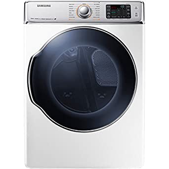 Amazon Com Samsung Dv56h9100gw 9 5 Cu Ft Front Load Gas