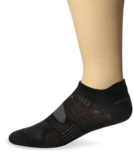 Balega Hidden Dry 2 Socks, Black, Large