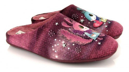 VUL-LADI, Pantofole donna rosa rosa Size: 36