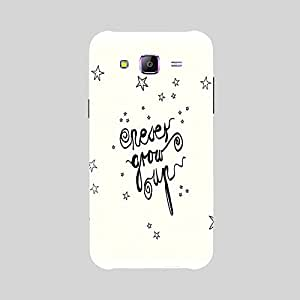 Back cover for Samsung Galaxy E5 Never Grow Up