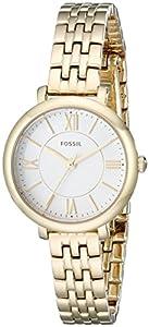 Fossil Women's ES3798 Jacqueline Small Analog Display Analog Quartz Gold Watch
