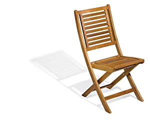 Oxford Garden Capri Acacia Folding Chair at Sears.com