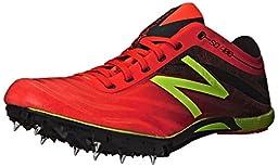 New Balance Men\'s SD400V3 Track Spike Shoe, Flame/Black, 12.5 D US