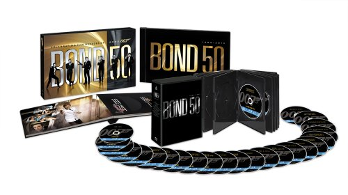 007 製作50周年記念版 ブルーレイ BOX(007製作50周年記念キーチェーン付) 〔初回生産限定〕 [Blu-ray]