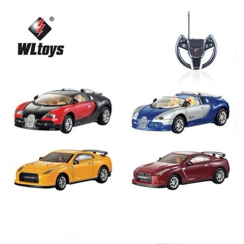 JMT 1:43 5 Channels Wl 8887 Mini Metal Emulation Rc Car Alloy Material Die-cast w/ Ce & Rohs Toy Gift for Kids