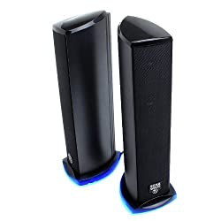 GOgroove SonaWAVE Ti Multimedia USB Powered 2.0 Channel Computer Speakers for Laptops , Mac , Notebooks , Ultrabooks , Desktops and More
