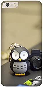 Penguin with camera by Akhila Printed Back Cover Case For Micromax Canvas Knight 2 4G E471